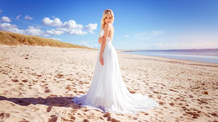 Photo de mariage à la plage